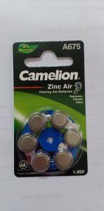 Pin trợ thính camelion A675
