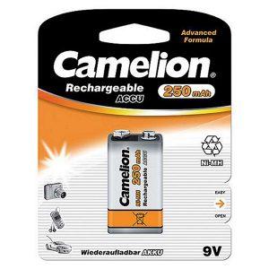 Pin sạc 9V Camelion 250 mAh vỉ 1 viên