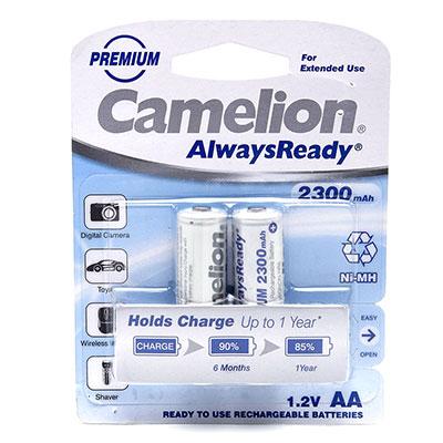 Pin sạc AA Camelion 2300 mAh vỉ 2 viên