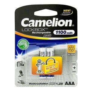Pin sạc AAA Camelion 1100 mAh vỉ 2 viên