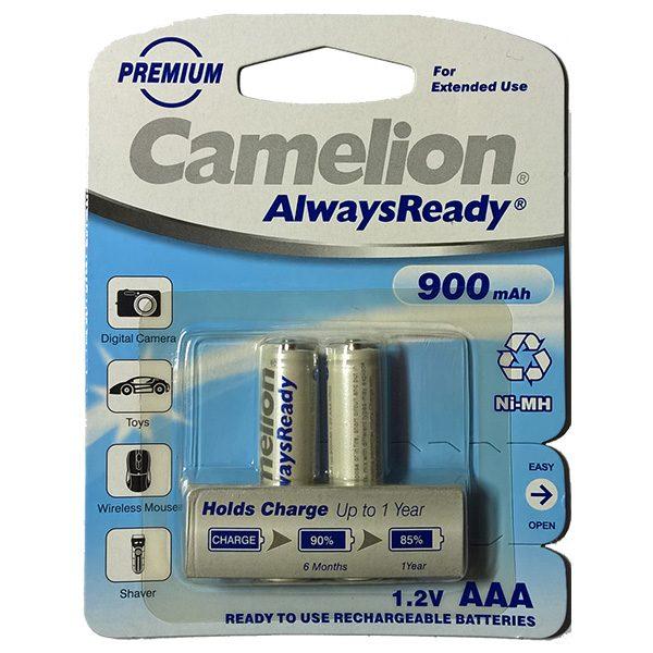 Pin sạc AAA Camelion 900 mAh vỉ 2 viên