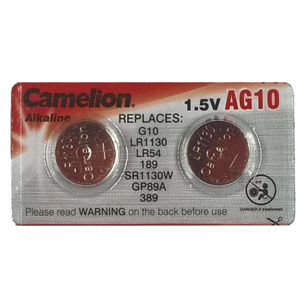 Pin AG10 Camelion vỉ 2 viên