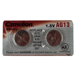 Pin AG13 Camelion vỉ 2 viên
