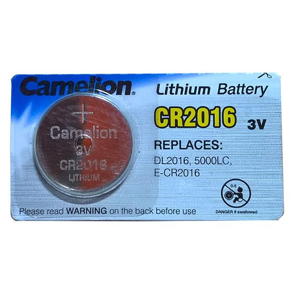 Pin CR2016 Camelion 3V vỉ 1 viên