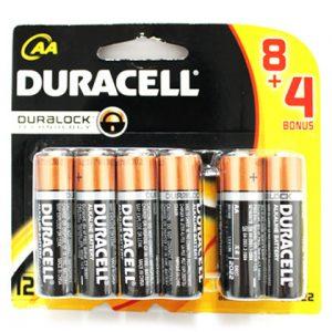 Pin AA Duracell vỉ 12 viên