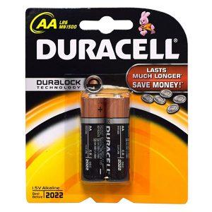 Pin AA Duracell Alkaline vỉ 2 viên