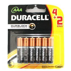 Pin AAA Duracell vỉ 6 viên