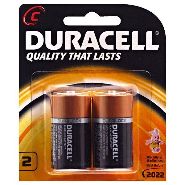 Pin trung Duracell C vỉ 2 viên