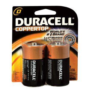 Pin đại Duracell D vỉ 2 viên