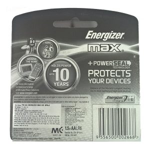 Pin AA Energizer vỉ 12 viên