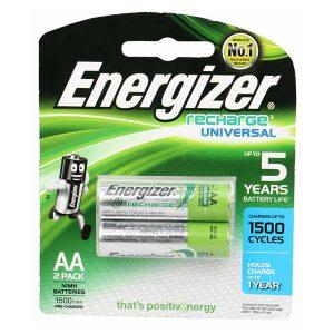 Pin sạc AA Energizer 1500mAh vỉ 2 viên