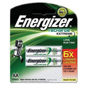 Pin sạc AA Energizer vỉ 2 viên