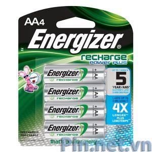 Pin sạc AA Energizer vỉ 4 viên