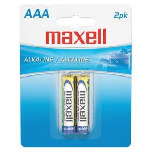 Pin AAA Maxell Alkaline vỉ 2 viên