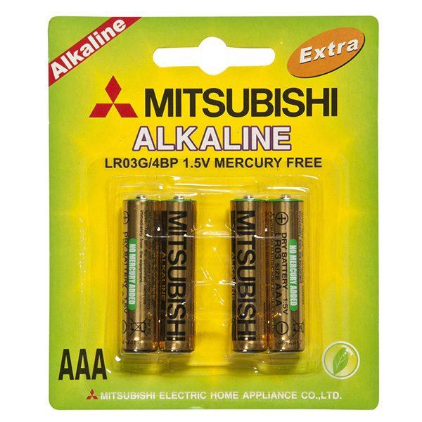 Pin AAA Mitsubishi vỉ 4 viên
