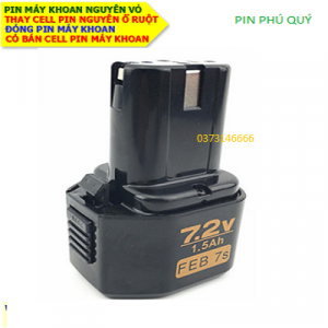 Pin Máy Khoan 7.2v 3.0AH (7.2v 3000mAh)
