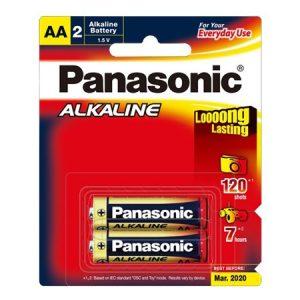 Pin AA Panasonic LR6T/2B vỉ 2 viên