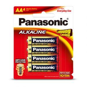 Pin AA Panasonic vỉ 4 viên