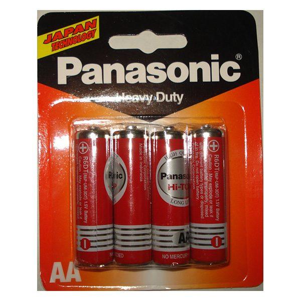 Pin AA Panasonic Hi-Top Carbon vỉ 4 viên