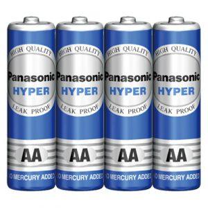 Pin AA Panasonic Hyper Carbon gói 4 viên