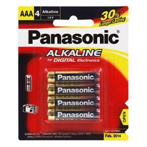 Pin AAA Panasonic vỉ 4 viên