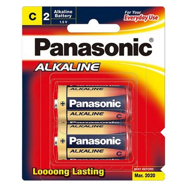 Pin trung Panasonic C vỉ 2 viên