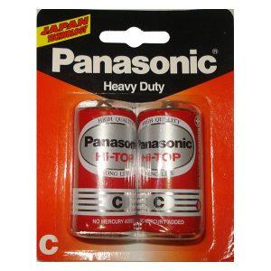 Pin trung Panasonic Hi-Top C Carbon vỉ 2 viên