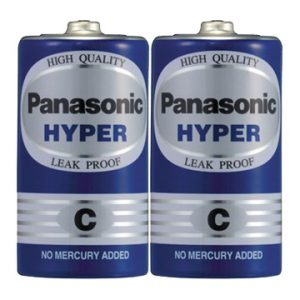 Pin trung Panasonic Hyper C Carbon gói 2 viên