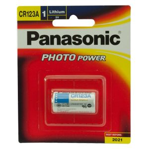 Pin CR123A Panasonic 3V vỉ 1 viên