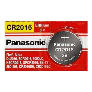 Pin CR2016 Panasonic 3V vỉ 1 viên