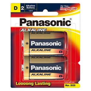 Pin đại Panasonic D vỉ 2 viên