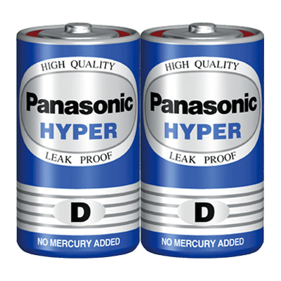Pin đại Panasonic Hyper D Carbon gói 2 viên
