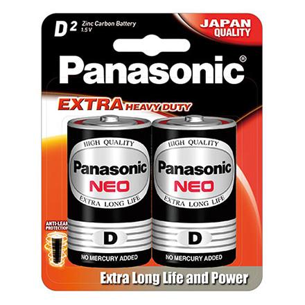 Pin đại Panasonic Neo D Carbon vỉ 2 viên
