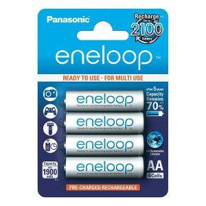 Pin sạc AA Panasonic Eneloop 1900 mAh vỉ 4 viên