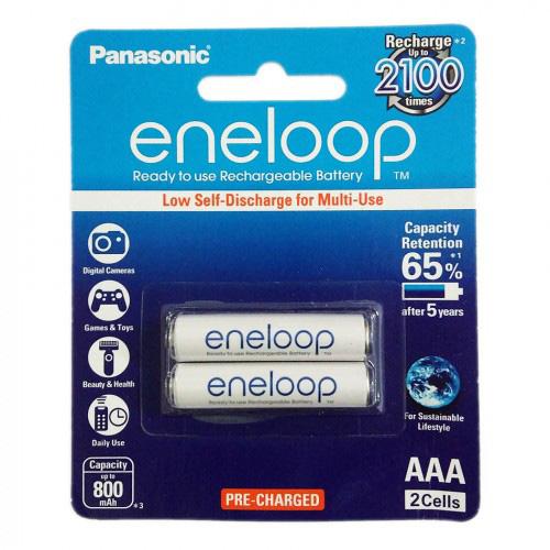 Pin sạc AAA Panasonic Eneloop 800 mAh vỉ 2 viên