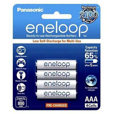 Pin sạc AAA Panasonic Eneloop 800 mAh vỉ 4 viên