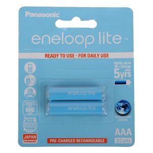 Pin sạc AAA Panasonic Eneloop Lite 600 mAh vỉ 2 viên