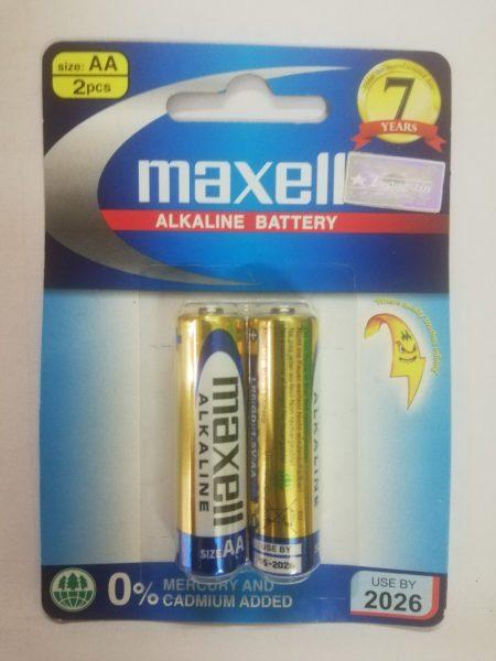 Pin aa maxell alkaline lr6