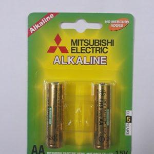 Pin aa mitsubisi alkaline vỉ 2 viên chính hãng
