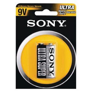 Pin 9V Sony Carbon vỉ 1 viên