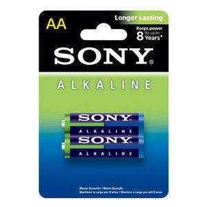 Pin AA Sony Alkaline vỉ 2 viên