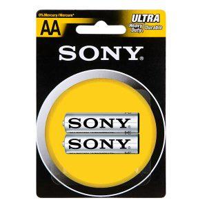 Pin AA Sony Carbon vỉ 2 viên