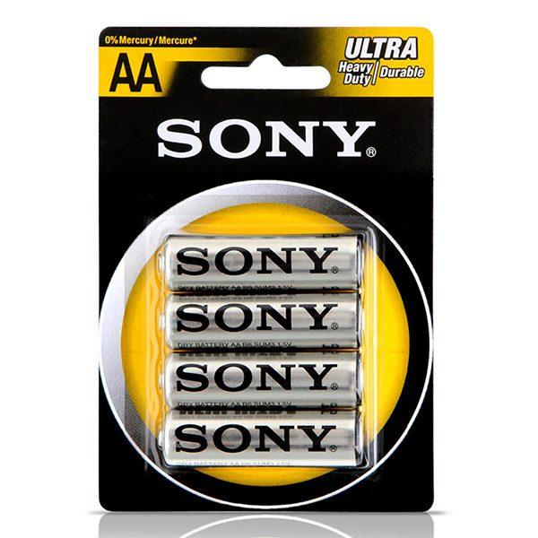 Pin AA Sony Carbon vỉ 4 viên