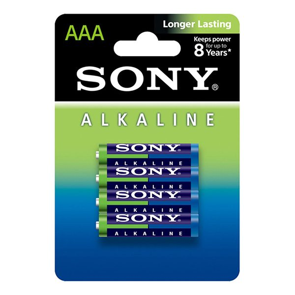 Pin AAA Sony Alkaline vỉ 4 viên