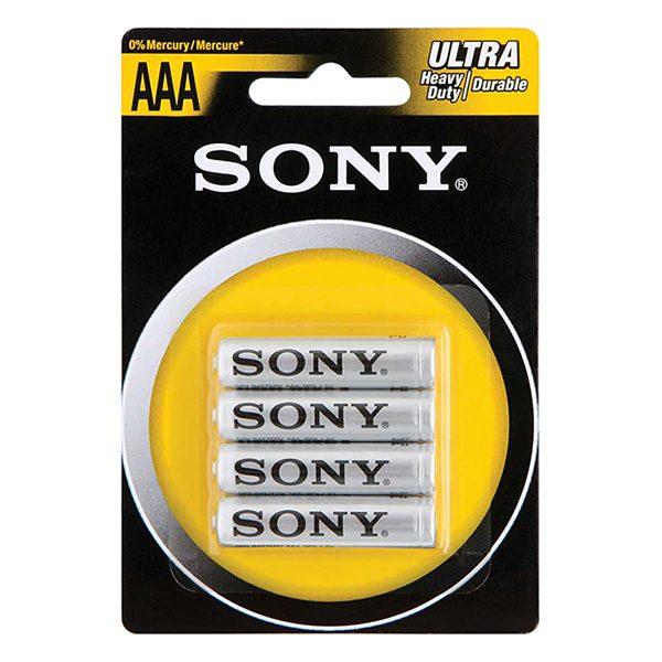 Pin AAA Sony Carbon vỉ 4 viên