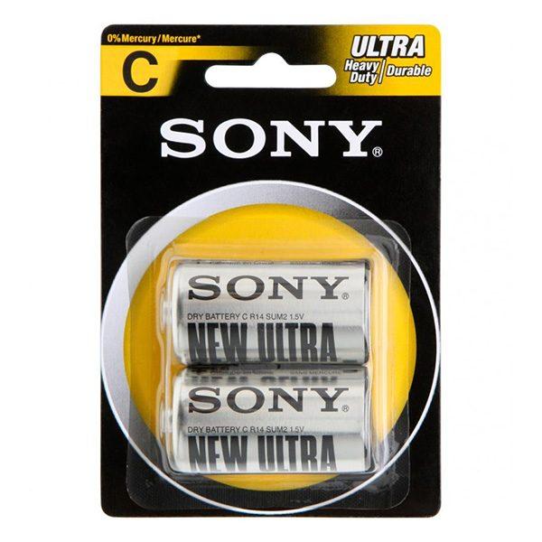 Pin trung Sony C Carbon vỉ 2 viên