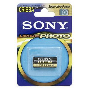 Pin CR123 Sony 3V vỉ 1 viên