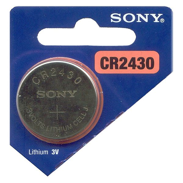 Pin CR2430 Sony 3V vỉ 1 viên