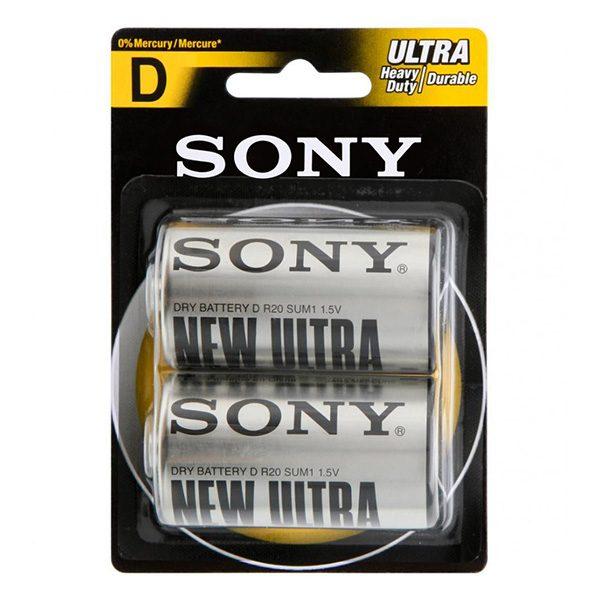 Pin đại Sony D Carbon vỉ 2 viên