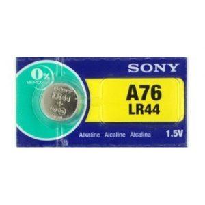 Pin LR44 A76 Sony AG13 vỉ 1 viên